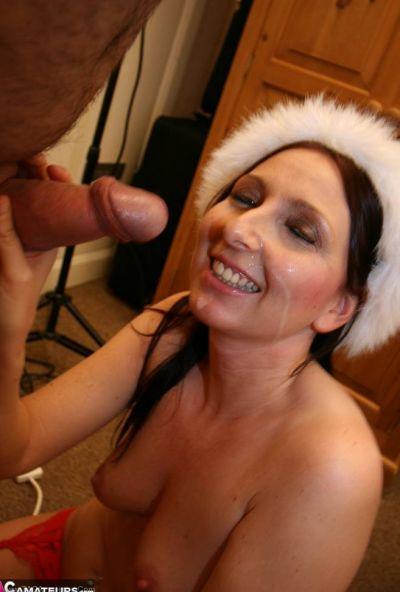Секс от первого лица со зрелой Снегуркой 19 фото